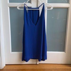 Babaton aritzia blue camisole
